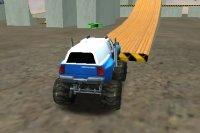 Acrobaties des Monster Truck