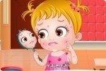 Bébé Hazel problèmes de peau