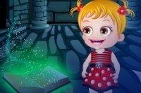 Bébé Hazel dans un phare