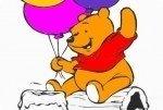 Coloriage de Winnie l'Ourson 2
