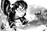 Coloriage Harry Potter