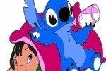 Coloriage Lilo et Stitch