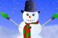 Décorer bonhomme de neige
