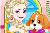 Elsa Adopte un Animal de Compagnie