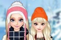 Elsa s'habille pour le voyage