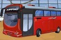 Garer le bus de l'aéroport