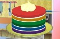 Gâteau arc-en-ciel 2