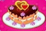 Gâteau de Saint Valentin