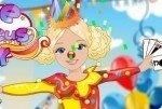 Habiller la jeune fille du cirque