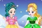 Jeunes filles Elsa et Anna