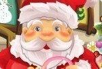 Le Père-Noël chez le docteur