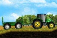 Le tracteur à la ferme