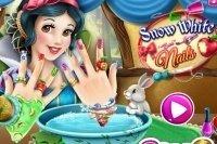 Les ongles de Blanche Neige