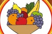 Livre de coloriage de fruits