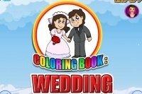 Livre de coloriage de mariage