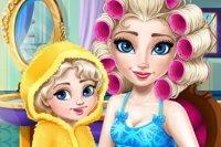 Maman Elsa change de look