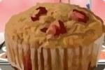 Muffin fraise banane