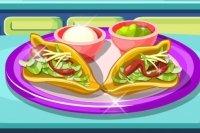 Préparer des tacos à la viande