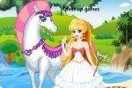 Princesse au cheval blanc