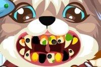 Puppy chez le dentiste