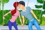 Rendez-vous en amoureux sur la balançoire