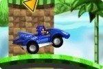 Sonic à la course automobile
