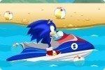 Sonic et son scooter des mers