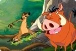 Timon et Pumbaa en skateboard