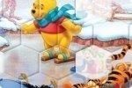 Winnie l'ourson fait du patin
