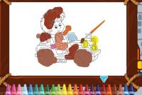 Colorier les voitures miniatures