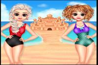 Les Princesses à la plage