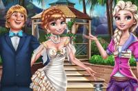 Préparation de Mariage des Frozen