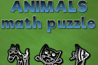 Puzzle Calcul Animaux